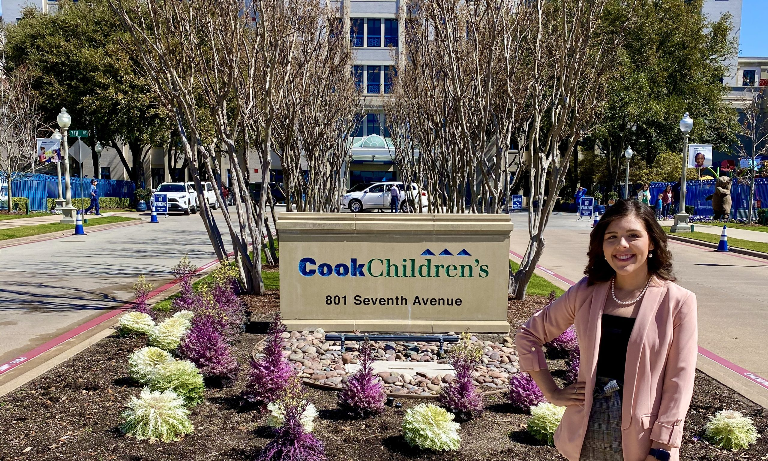 Recent HSU graduate, Emily Pierce has been accepted into the Critical Care Nurse Residency Program at Cook Children's Medical Center in Fort Worth.